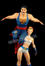 DC Comics Bombshells Power Girl & Superman Statue DC Collectibles