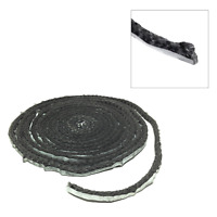 Homesaver Wood Pellet Fireplace Stove Door Gasket Clear Hi-Temp Cement RTV 81525