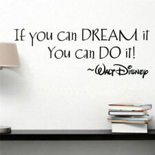 Inspiring Quotes Wall Stickers Home Art Decor Decal Mural DIY For Kid Room Gifts