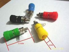 5PCS Binding Post Speaker Terminal for 4mm Banana plug