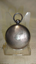Antique Solid Sterling Silver Full Hunter Pocket Watch Case - No Workings