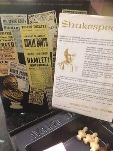 Shakespeare - Avalon Hill Bookcase Game, 1966, Knowledge Literature