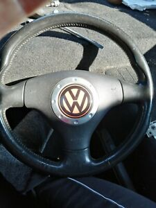 VW New Beetle Leather Steering Wheel