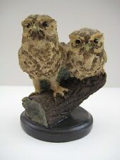 Decorative bird figurine, The country bird collection The Little Owl handpainted
