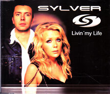 SYLVER - LIVIN' MY LIFE CD SINGLE 2 TRACKS 2002 EXCELLENT CONDITION