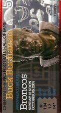Ticket Football Kansas City Chiefs 2003 10/5 Denver Broncos Dante Hall Punt TD