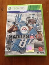 Madden Nfl 13 Xbox 360 Brand New