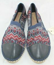 Joy and Mario Women Espadrilles Size 11 Navy color Beaded looking patern