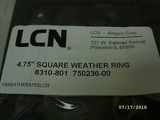 "LCN Allegion Electrical Junction Conduit Box 4.75"" Weather Ring Seal 8310-801"