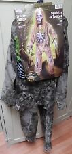 Halloween Costume Skeleton Zombie Large Kid Size 12 to 14 years Fun World 119X