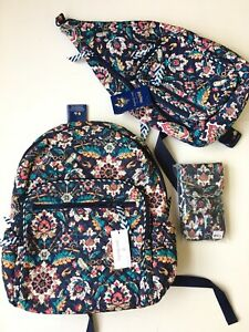 Vera Bradley Harry Potter Hogwarts Campus Backpack, Sling, Phone Case Set New!