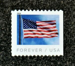 2019USA #5345 Forever U.S. Flag US - Single From Booklet of 20  Mint  (BCA)