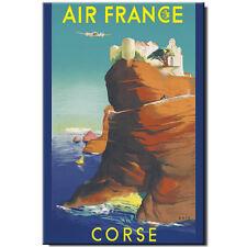 Fridge magnet Vintage Travel Poster: Corsica France