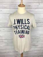 Men's Jack Wills T-Shirt - XS - Beige - Great Condition