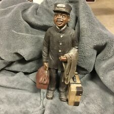 Sarah's Attic Porter Figurine, 377 of 5000, Made in the Usa
