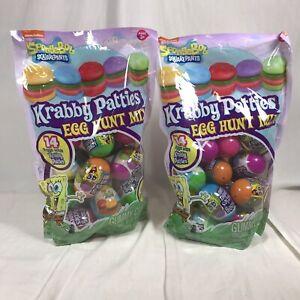 Spongebob Squarepants Gummy Krabby Patty Filled Party Favors Halloween Candy Egg