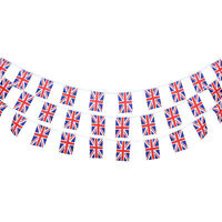 10M Vintage British Union Jack Flag Bunting Retro Banner Garland Decoration