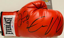 Floyd Mayweather Jr. Conor McGregor Signed Boxing Glove - Beckett PSA DNA + BAS