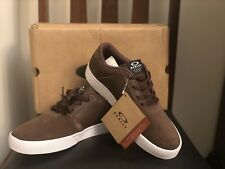 New Oakley Mens Valve 2 Brown Havana Sneakers Size 8.5