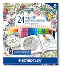 STAEDTLER Farbstifte ergo soft 24er-Box Johanna Basford Design 157 C24JB NEU&OVP