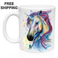 Unicorn, Birthday, Christmas Gift, White Mug 11 oz, Coffee/Tea