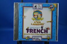 Family Circus Presents Lyric Language / CDM French Multimedia CD – CD-ROM  NEW