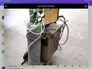 """ESAB Mig Welder condition """"used"""" complete with 3m Torch, earth lead."""