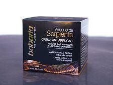 Babaria Snake Venom SYN-AKE Anti Wrinkle Cream 50ml. Cruelty Free Beauty!