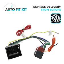 Audi A4 Amplificado Activo ISO Radio Arnés De estéreo//// Adaptador//conector de cableado