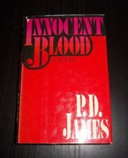P.D. JAMES - INNOCENT BLOOD FIRST EDITION, 1ST. PRINTING HB WITH DUST JACKET
