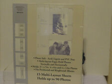 "500 foto de mangas de poliéster suave Bcw 6/""x9/"" claro 6x9 fotografía de gran tamaño tarjeta post"