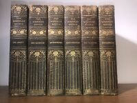 Old Leather bound Set Rustic Antiquarian The WAVERLY NOVELS Sir Walter Scott Set