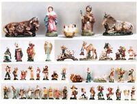 Krippenfiguren Zusatzteile für 14 cm Krippe Cartapesta Figuren Italien Schäfer