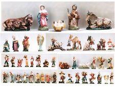 Figuras Del Belén Piezas Para 14CM Nacimiento Cartapesta Figuras Italia Schäfer