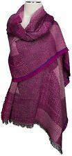 Schal, Pink scarf  Wolle Modal wool scarf  ècharpe foulard 70x190