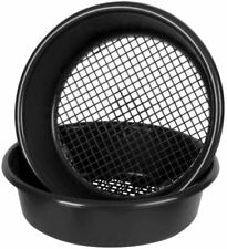 More details for black garden sieve 35cm soil compost stone sifter riddle heavy duty one sieve