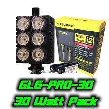 Ghost Light™ GL6-PRO-30 30 Watt IR LED Light Packgage for Infrared Full Spec Cam