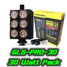 Ghost Light™ GL6-PRO-30 30 Watt IR LED Light Packgage for Infrared Full Spec Cam