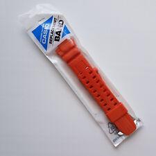 Genuine Factory Watch Band 26mm Orange Rubber Strap Casio GW-3000M-4A