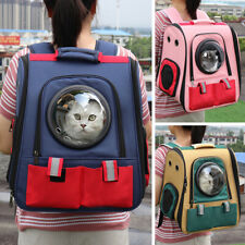 Pet Puppy Bag Travel Carrier Backpack Dog Cat Space Capsule Breathable Bubble