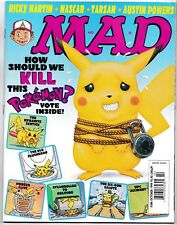 MAD MAGAZINE #386 October 1999 POKEMON Austin Powers NASCAR Ricky Martin NEW