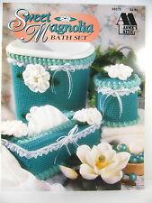 Annies Attic Sweet Magnolia Bath Set  Jane Pearson  gift idea  Crochet