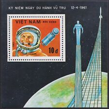 VIETNAM Bloc N°3** Bf Espace GAGARINE, 1983 Vietnam 1281 Space Sheet MNH