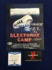 FELISSA ROSE SLEEPAWAY CAMP AUTOGRAPHED SIGNED 8X10 PHOTO! BECKETT COA! HORROR!