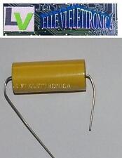 5131 Condensatore Hi-Fi Assiale Poliestere 3,3 uF Micro Farad 250 Volt Filtro