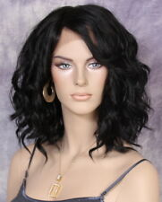 Fashion Everyday Style Lace Front Wig Soft Off Black Super Natural ppq 1B