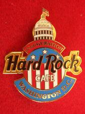 HRC Hard Rock Cafe Washington Inauguration 2001 Flag Logo Capitol LE