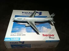 NEW HERPA WINGS 501927 IRAN AIR AIRBUS A300-600 W/ REG. 1:500 SCALE RARE MIB NIB