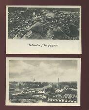 Sweden TIDAHOLM x2 1924 PPCs