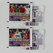 PANINI Road to EURO 2020 | 2 RARE sealed packets CZECH REPUBLIC | CORFIX sticker
